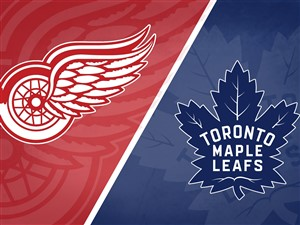 Toronto Maple Leafs at Detroit Red Wings