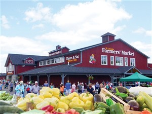 St. Jacobs and the Farmers' Market