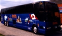 Coach #1867 - The first coach dedicated to Canadian unity & pride, painted by Dave Sopha
