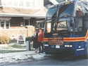 Lorna & Larry Hundt and their first motor coach, Coach #2001