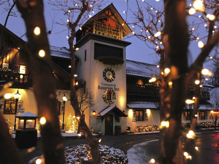 Frankenmuth Christmas.Christmas In Frankenmuth Bus Tour Great Canadian